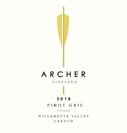 2018 Willamette Valley Pinot Gris